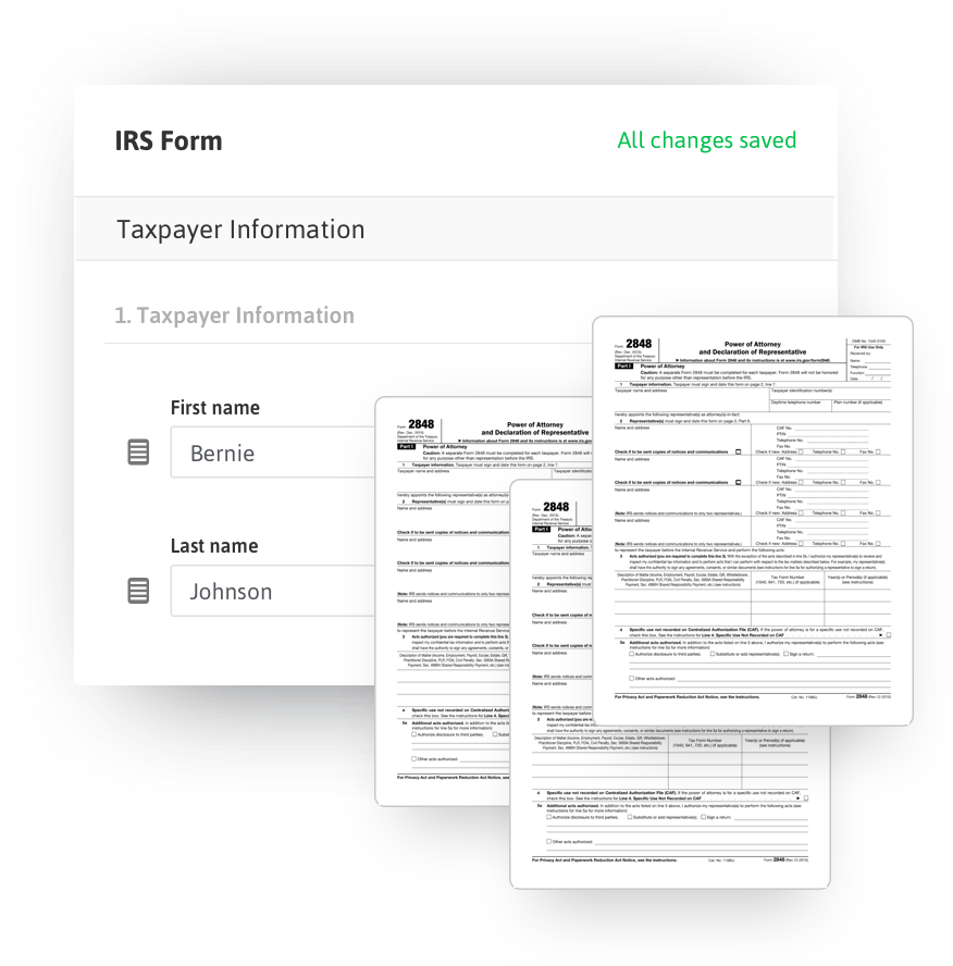 Irs Form 8821 Where To Send Form N 848 Fill Online Printable ...
